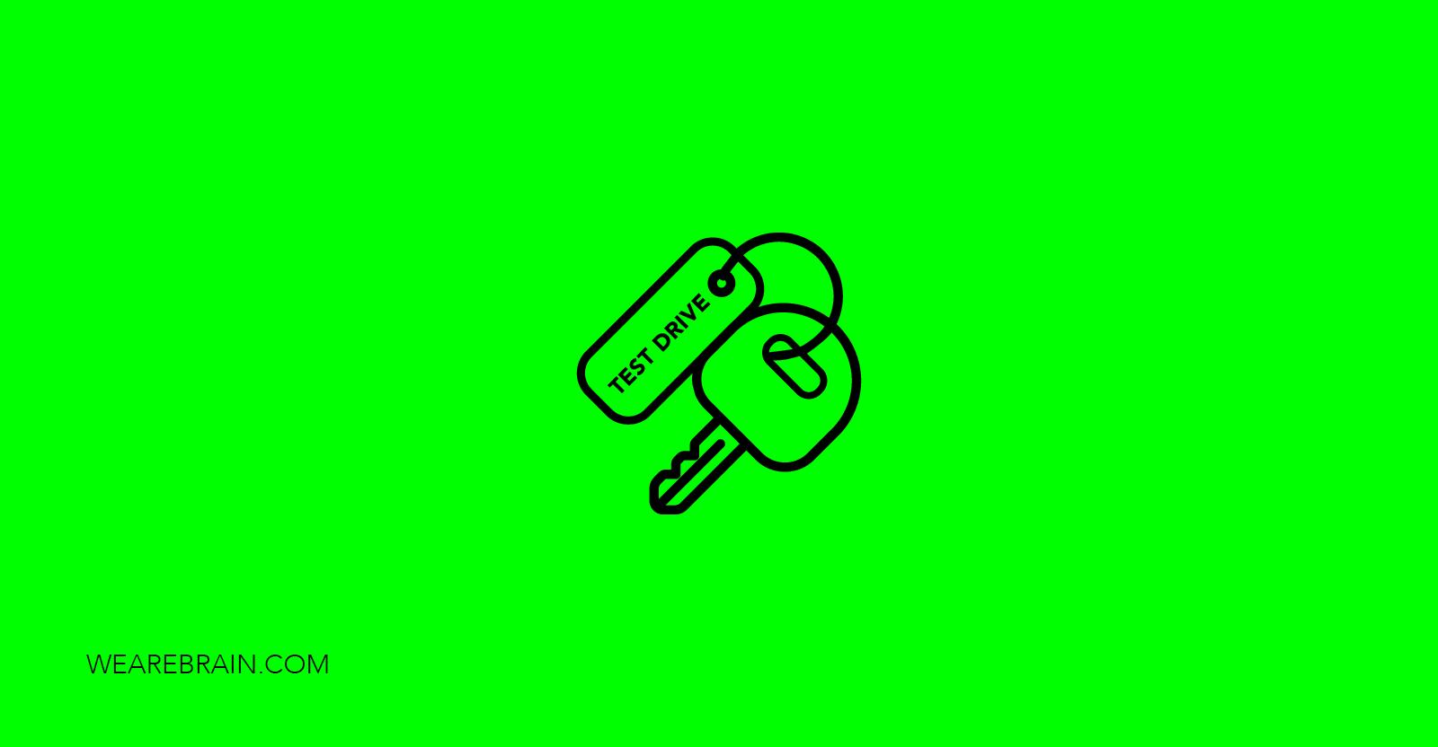 icon of a car key