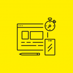 icon illustration of a design interface