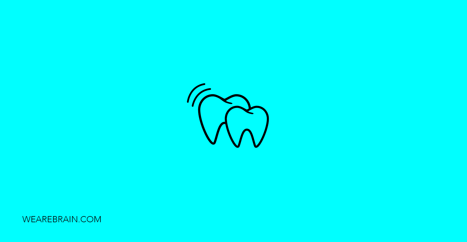 icon of two teeth