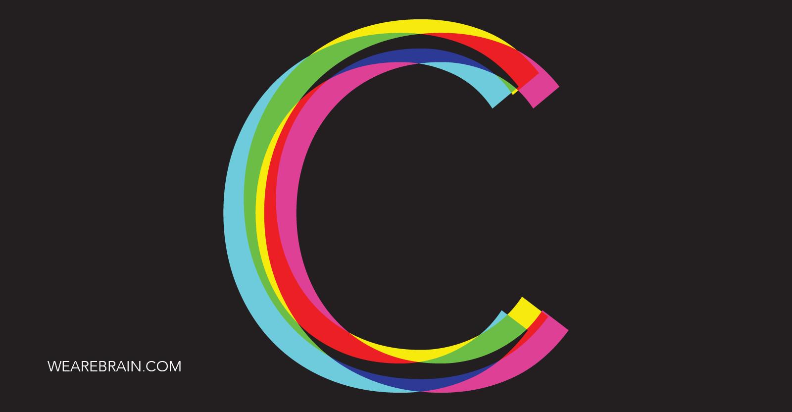 illustration of the letter C