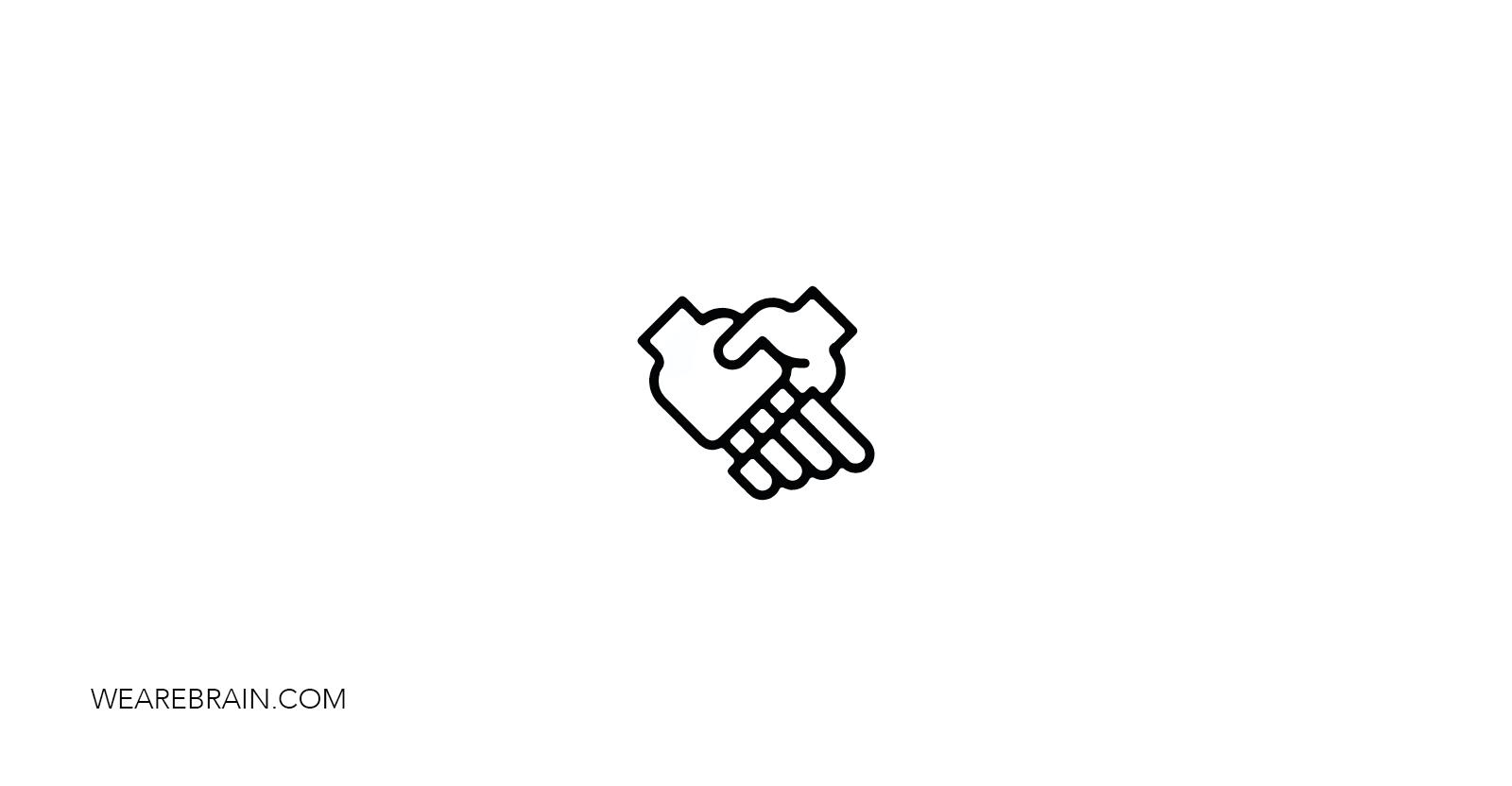icon representing a handshake