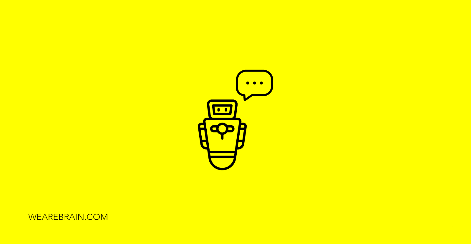 icon of a robot speaking
