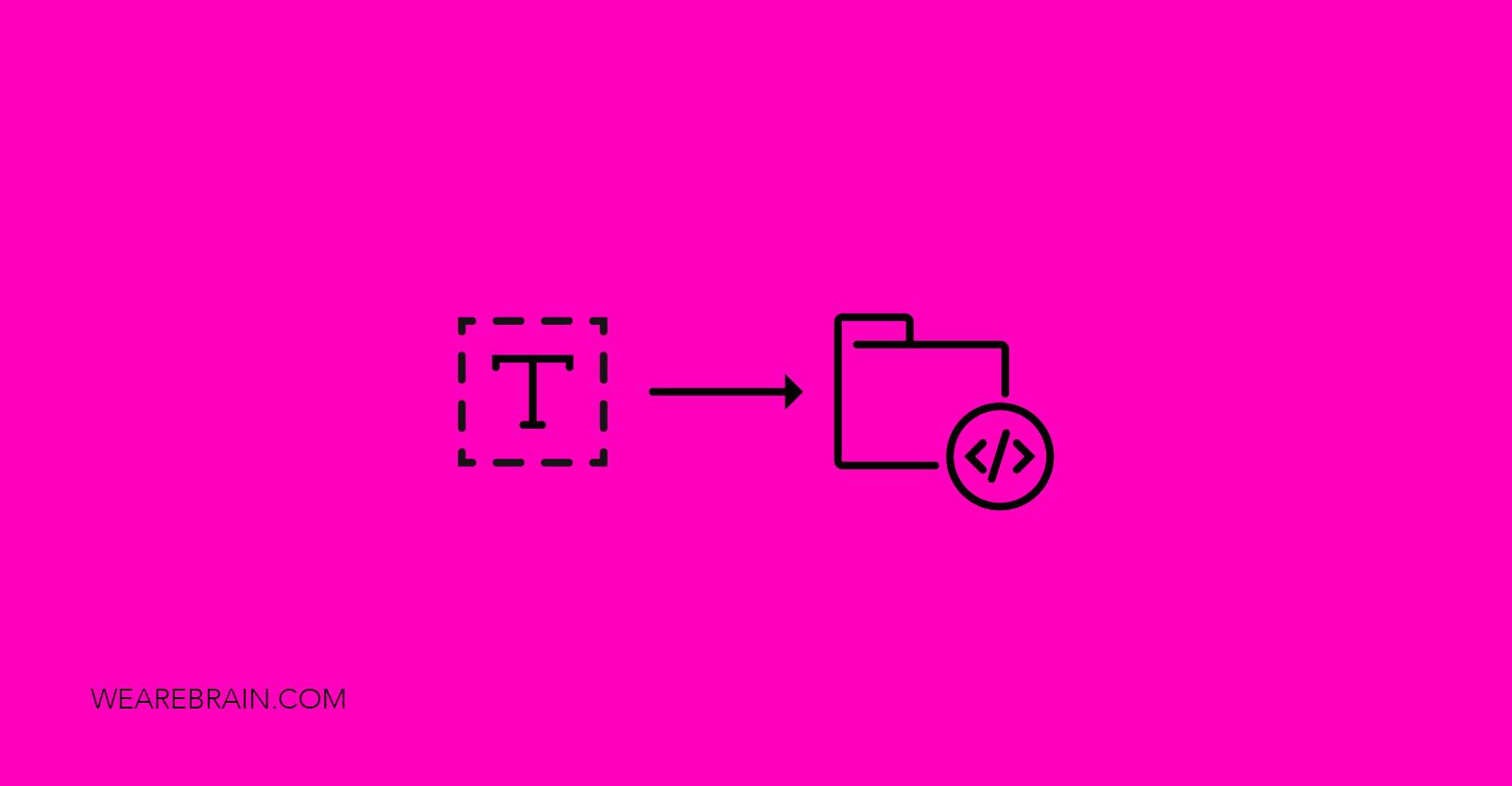 icon of a font folder