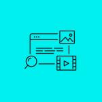 icon representing multimedia content