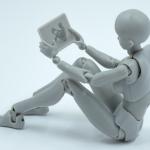 robot sitting