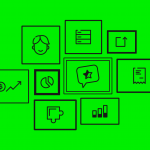 illustration of a business canvas