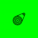 icon of a turning gear