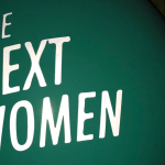 text saying 'The Next Women'