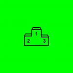 icon of a podium