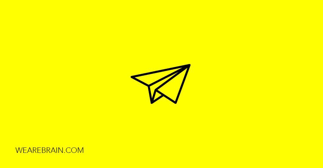 icon of a paper plane