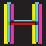 illustration of the letter H