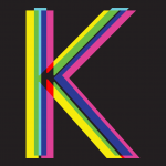 illustration of the letter K