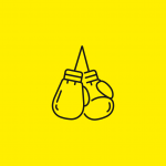 icon representing a pair of boxing gloves