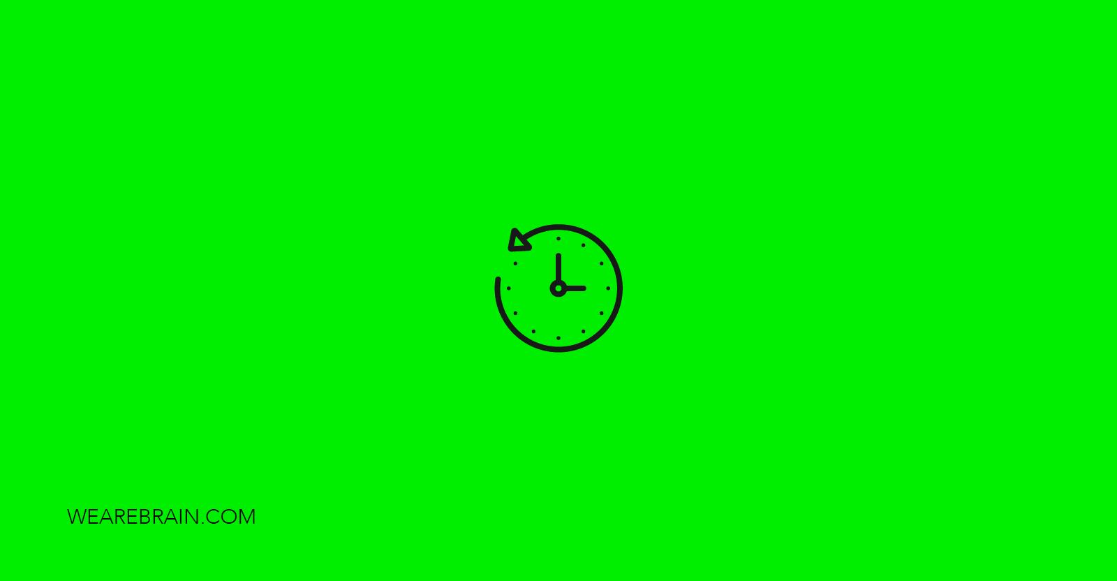 icon representing a clock