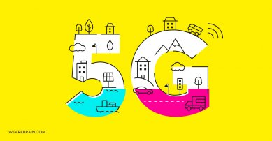 illustration about 5G