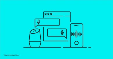 illustration of smart speakers