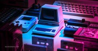 picture of a retro computer