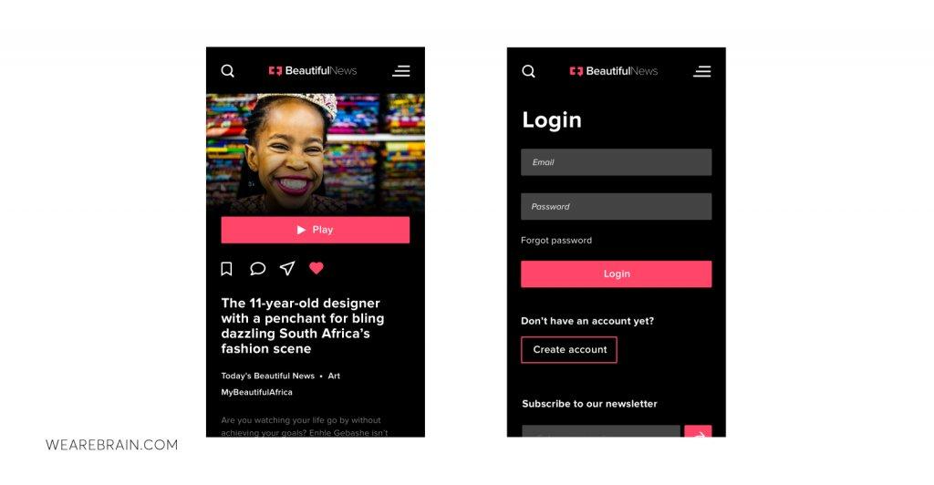 screenshot of a user interface