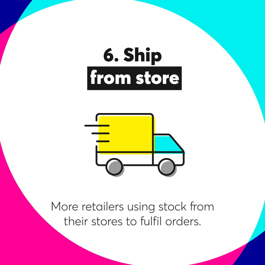 ship from store illustration